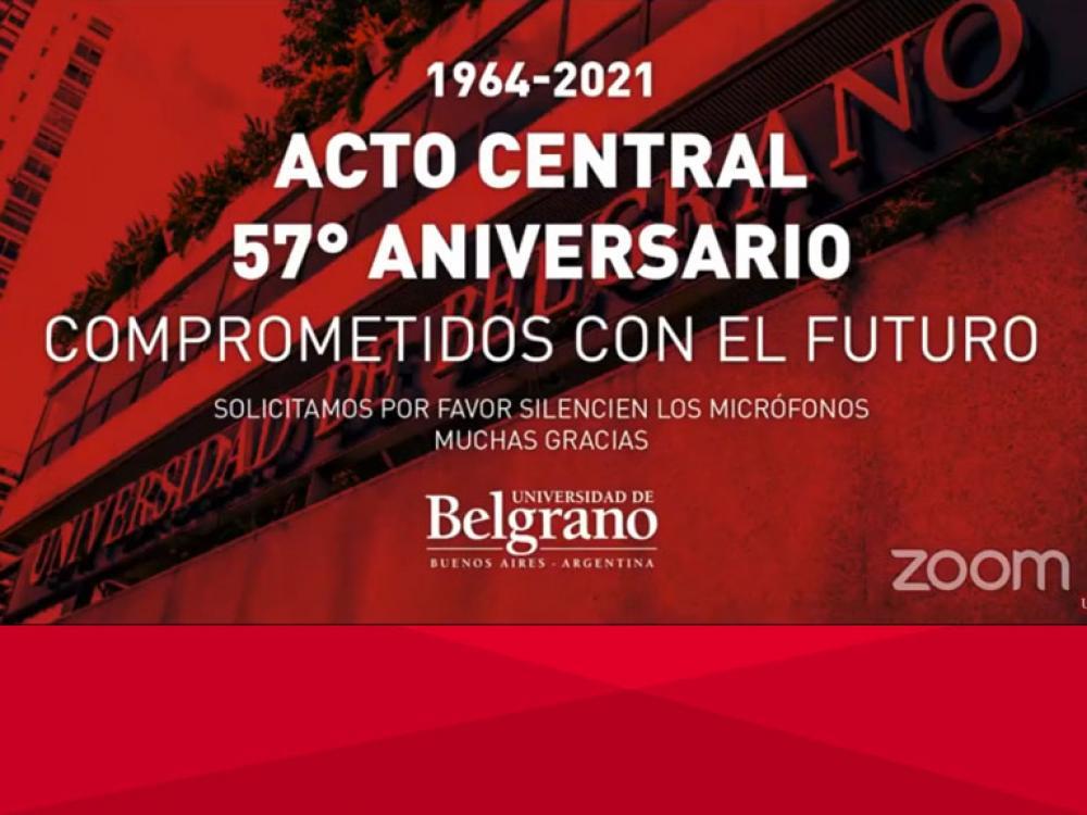 57º Aniversario de la Universidad de Belgrano