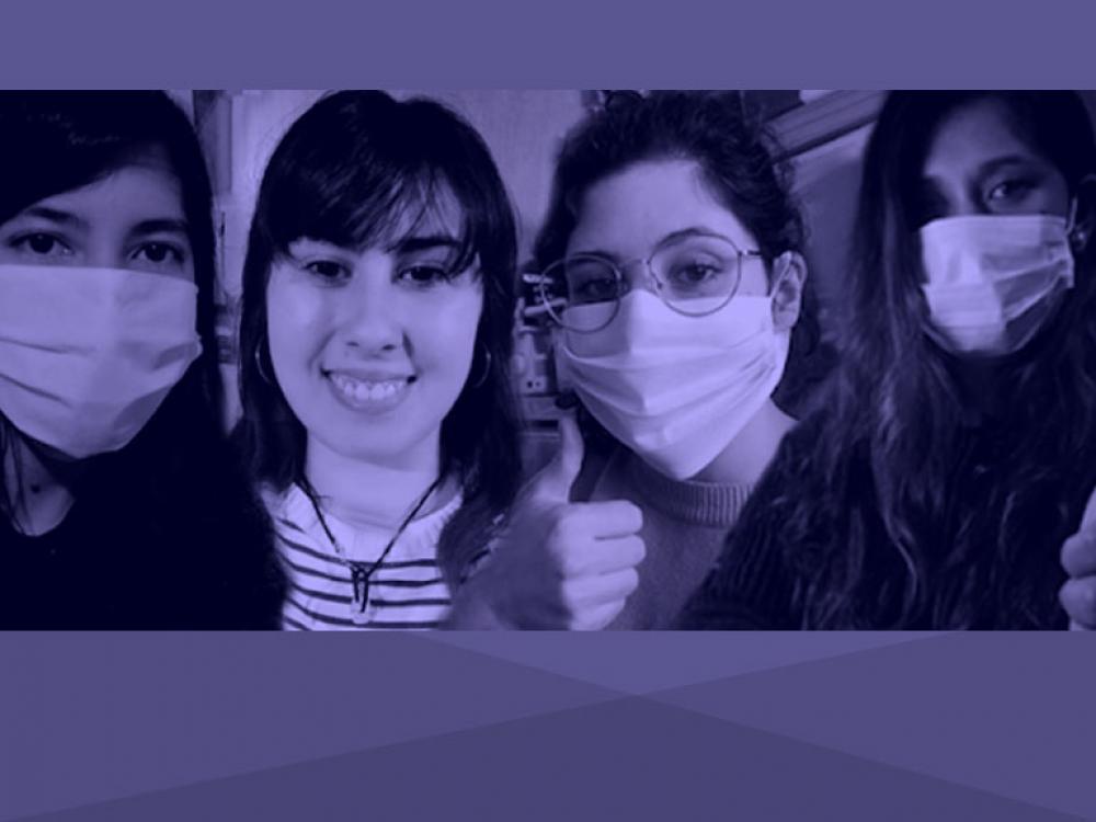 La solidaridad de alumnas UB en el aislamiento social
