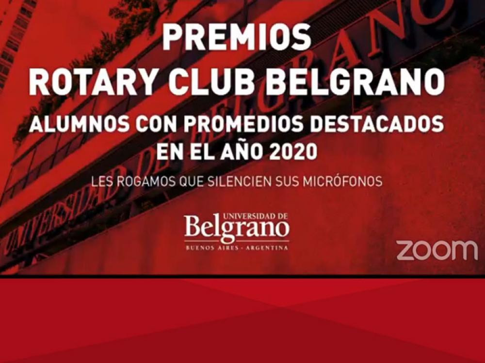 Premios Rotary Club Belgrano