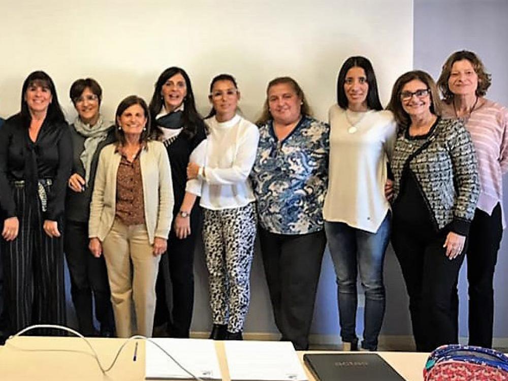 La directora de la carrera de Nutrición UB, participó de la IV Reunión Plenaria de ASEUNRA